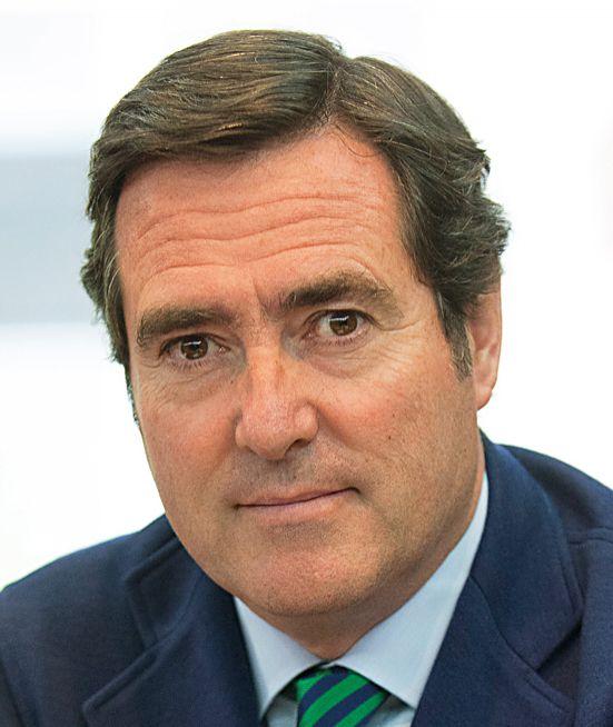 Antonio Garamendi, Presidente de la Confederación Española de la Pequeña y Mediana Empresa (CEPYME)