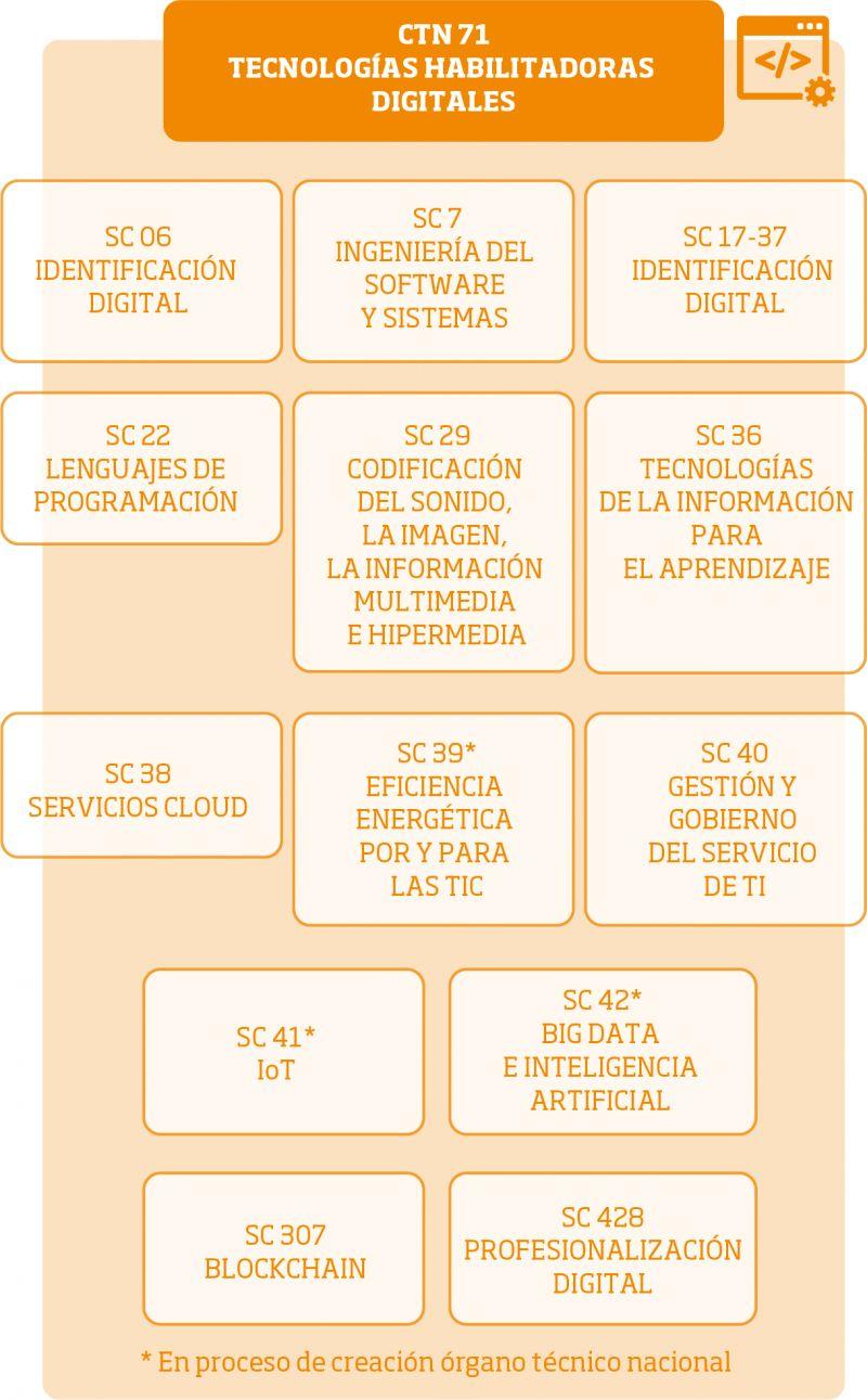 Estructura del CTN 71