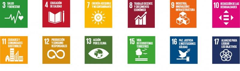 Las normas en Economía Digital contribuyen al cumplimiento de los siguientes Objetivos de Desarrollo Sostenible de la ONU: