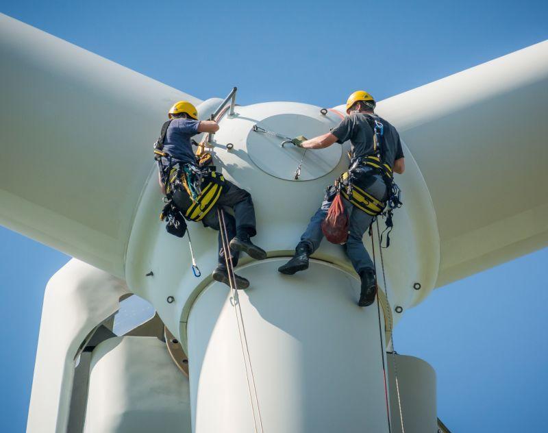 La energía eólica es una energía competitiva y consolidada, que en 2019 aportó el 20 % de la  ...