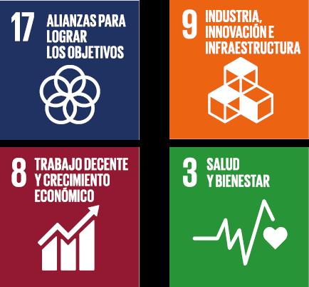 Las normas para la emergencia sanitaria ayudan a cumplir los siguientes ODS de la ONU