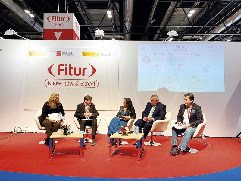 UNE en Fitur Know-how & Export