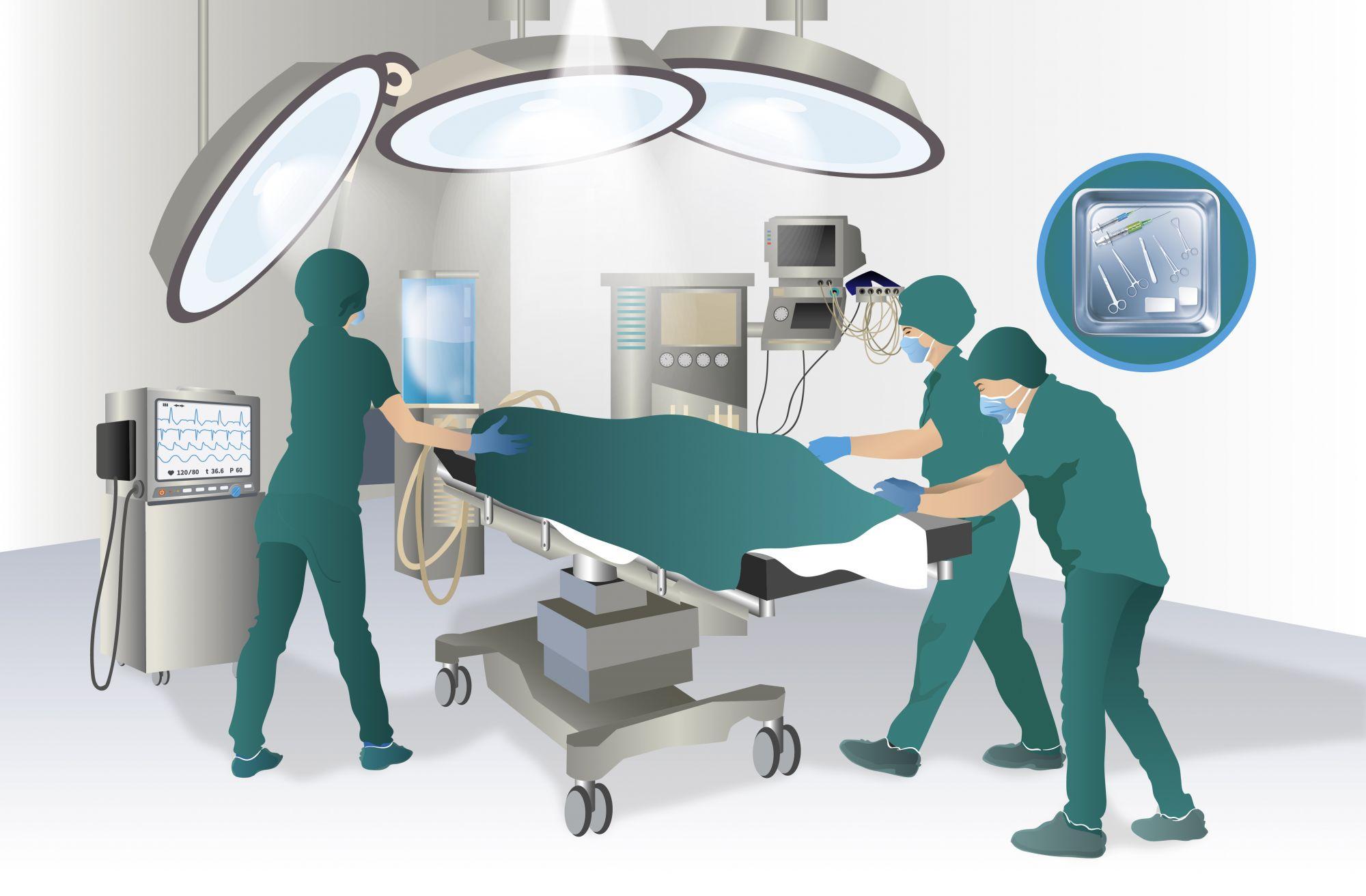 Hospital (2/3) Quirófano
